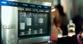 Dispensador de Vino por Copa